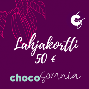 Lahjakortti Chocosomnia Oulu suklaakauppa