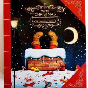 käsintehty suklaa oulu joulukalenteri