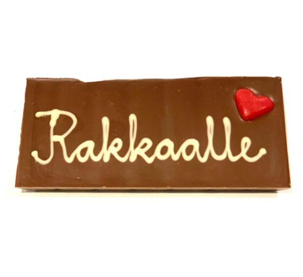 Käsintehty suklaa oulu ystävänpäivä lahja