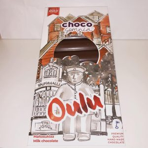 Käsintehty suklaa suklaalevy toripolliisi oulu