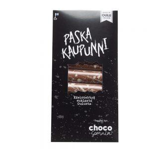 suklaalevy paska kaupunni käsintehty oulu chocosomnia
